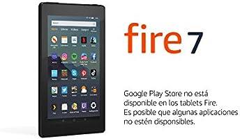 Tablet Fire 7, pantalla de 7'', 16 GB (Negro) - Incluye ofertas especiales