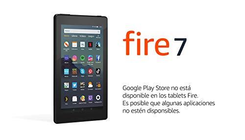 Tablet Fire 7, Reacondicionado certificado, Pantalla de 7'', 32 GB, Negro