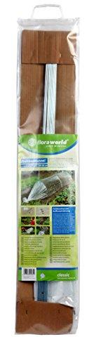 Floraworld - Folientunnel in transparent, Größe 20.0 x 1.0 x 93.0 cm