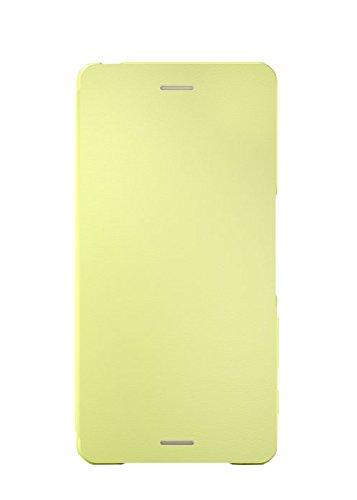 Sony Mobile Smartphone-Flipcover SCR52 Hülle für Xperia X - Grüngold