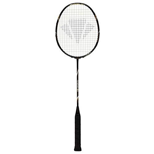 Carlton Kinesis 80 Raquette de badminton unisexe Noir/doré Taille unique
