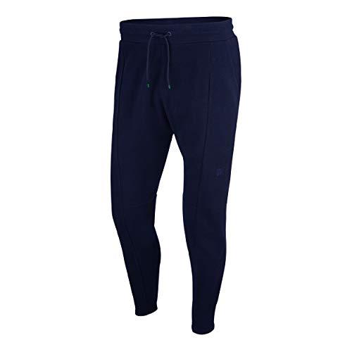 Nike RF, Pantaloni Uomo, Blue Void/Metallic Gold/University Blue, L