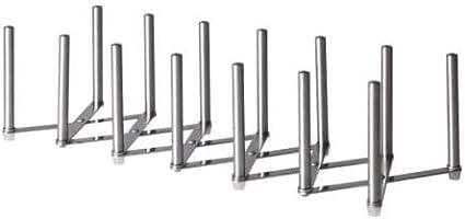 Ikea VARIERA Topfdeckel-Organizer, Edelstahl (1 Stück/De-luxe)