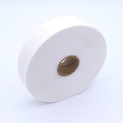 YMWALK 52 Yards einseitig schmelzbares Einlage-Bügelgewebe zum Aufbügeln, Wonder Web Kein nähendes Klebegewebe für Wäschesäume Vorhänge Verklebung und Bastelprojekte (Breite 3,3 cm)