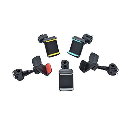 junengSO 360 ° de rotación del Asiento Trasero del Coche Soporte de Montaje del reposacabezas para teléfono móvil GPS de 3,5'-6'