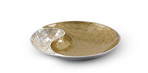 Julia Knight Classic 33cm Yin Yang Bowl–caramello, marrone