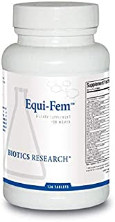 Biotics Research Equi-Fem™ - Multi-Vitamin/Mineral Supplement for Women. High Dose Multi for Pre-Menstrual Support. Hormonal Support. Black Cohosh. Dong Quai. Digestive Enzyme Support (126)