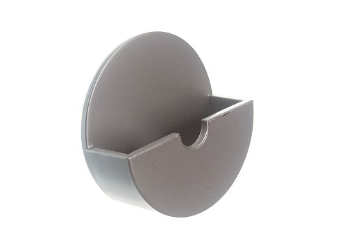 10 de plug Titulaire bâton Tidy On Self Adhesive Satin Chrome plastique