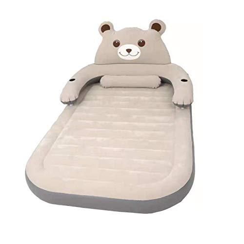 Zixin Luftmatratze aufblasbares Bett Doppel Haushalt Cartoon Folding Air Bett mit elektrischer Luftpumpe, Max Last 800KG, Hautfreundliche Beflockung Stoff (Größe: 1.5x2.3m) (Size : 1.2x2.1m)