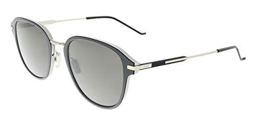 Dior AL13.9 NR TC0 Gafas de sol, Negro (Silver Blk/Brown Grey), 52 para Hombre