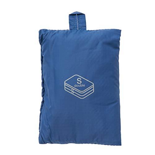 MUJI - Gusset Case Double S Blue