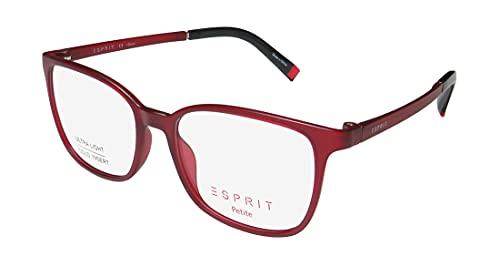 Esprit Women's Eyeglasses ET17535 ET/17535 531 Red Full Rim Optical Frame 49mm