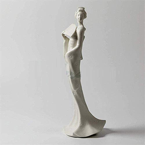 Sculptures Decoration,Furniture Decoration Gifts Creative Simple Modern Crafts Abstract Art Office Living Room Bar Cafe Ornaments Statues And Figurines Ceramic Japanese Style Geisha Ceramic Girl