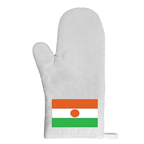 Mygoodprice Ofenhandschuh Topflappen Flagge Niger