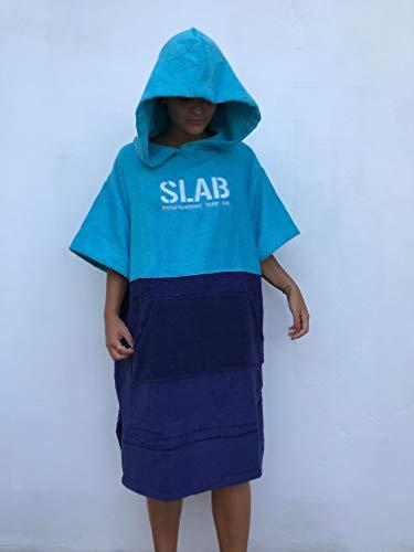 Slab-Poncho Toalla Blue Talla S/M