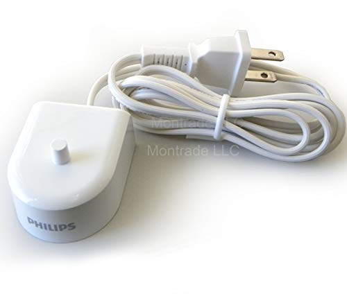 New Philips HX6100 Charger for Sonicare HeathyWhite Flexcare HX6500/HX6511/HX6530/HX6711/HX6730/HX6731/HX6732/HX6780…