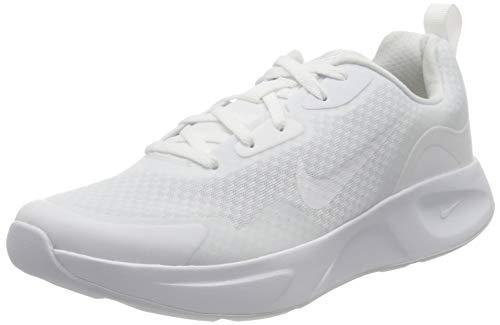 Nike Damen Wearallday Sneaker, White/White-White, 39 EU