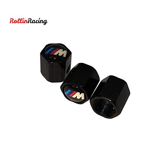 ROLLIN Tapones Valvula Coche antirrobo Compatible con BMW Todos los Modelos