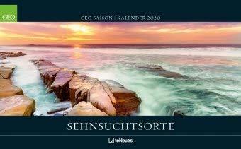 Sehnsuchtsorte - Kalender 2020 - teNeues-Verlag - GEO SAISON - Wandkalender mit atemberaubenden Landschaften - 58 c x 36 cm