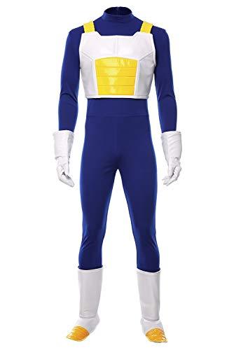 RedJade Dragon Ball Dragonball Z Vegeta IV Outfit Traje de Cosplay Disfraz Hombres S
