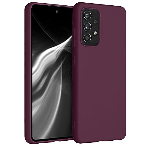kwmobile Hülle für Samsung Galaxy A52 - Hülle Handyhülle - Handy Hülle in Bordeaux Violett