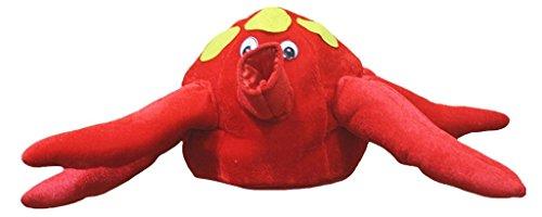 Petitebelle Halloween-Kostüm Tiere Hut Unisex-Kleidung Freie Größe Einheitsgröße Tintenfisch