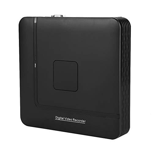 Asixxsix Cámara CCTV NVR, Grabadora Full HD de Respaldo, Soporte en Tiempo Real Salida Vga(100-240V British Standard)