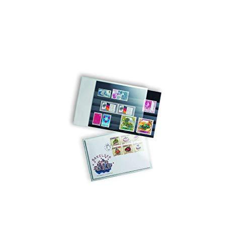 Pochettes de protection pour lettres et cartes postales anciennes 145x95 mm, transparent