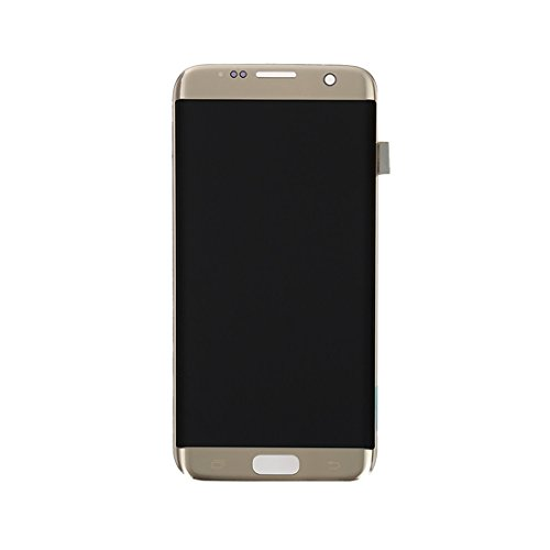 ELECTRONICS MobilePhone ACCESSOIRES COU New LCD-scherm + Touch Panel for Galaxy S7 Edge / G9350 / G935F / G935A / G935V (zwart) (Color : Gold)