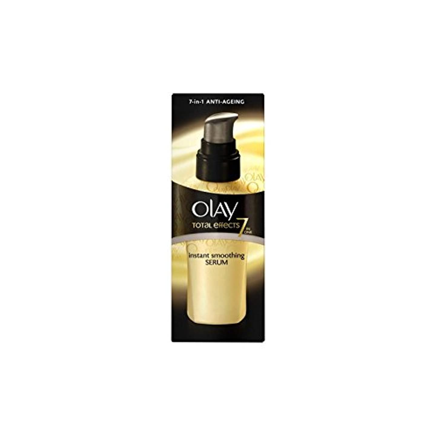 Olay Total Effects Instant Smoothing Serum (50ml) - オーレイトータルエフェクトインスタント平滑化血清(50ミリリットル) [並行輸入品]