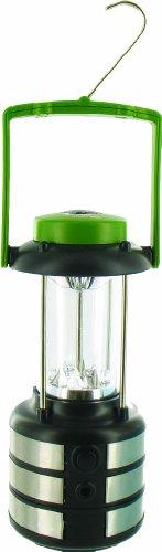 HIGHLANDER Vega Mini Lanterne Olive/Argenté/Noir