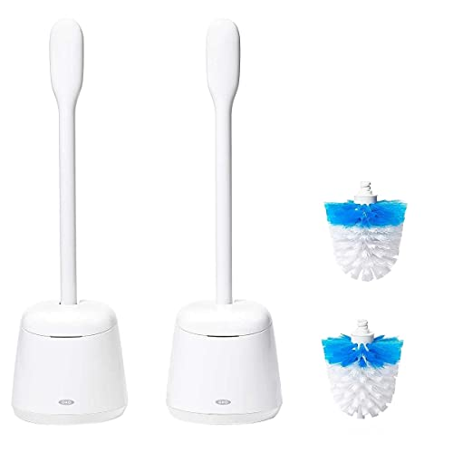 OXO Toilet Brush and Canister Set (2 Pack)