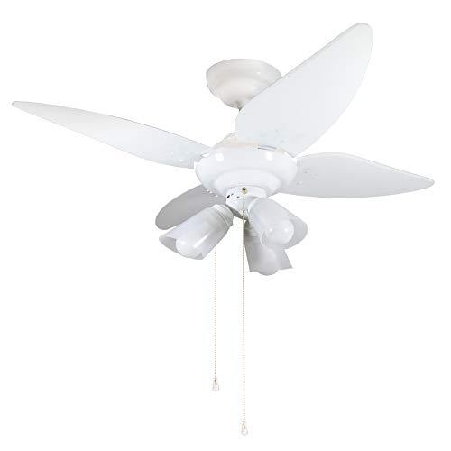 Ventilador Salvante 110/127V 4P, Tron, Branco