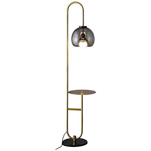 Lámpara LED pie, Mesa de café Sala de Estar Vertical Dormitorio Cama Sofá pie de Mesa de café Nivel de energía de la luz de Lectura de protecció (Size : White Light)