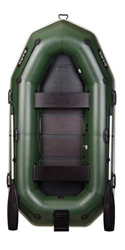 BARK B-270NP 2.7 m 270 cm Schlauchboot für 2 Person Paddelboot Ruderboot Motorboot Angelboot Heckspiegel Lattenboden Scheuerleiste Profi (B-270NP Lattenboden Heckspiegel Scheuerleiste)