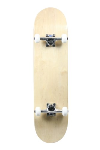 SCSK8 Pro Skateboard Complete Pre-Assembled Graphic/Natural Complete (The Natural)