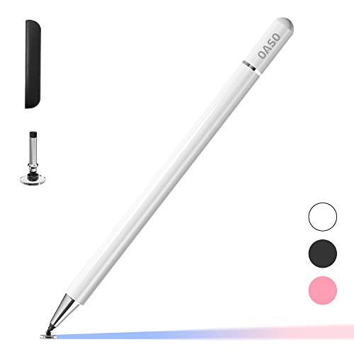 Samsung-Stift, Eingabestifte Kapazitive Disc-Spitze Stift und Magnetkappe Kompatibel Mit Allen Touchscreens, Stifte für Apple iPad Pro/iPad 6/7/8/iPhone, Samsung Galaxy Tab A7/S7, Chromebook