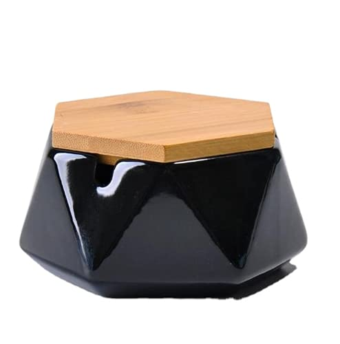 Ceniceros de cerámica con tapas mini ceniceros regalo para novio bolsillo portátil