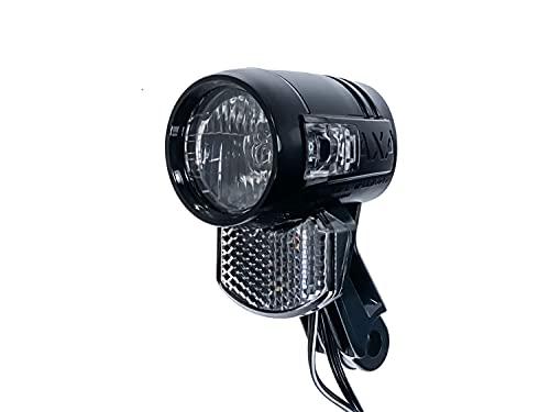 AXA Blueline 30 Switch LUX Fahrrad Front Licht LED Scheinwerfer Lampe Reflektor