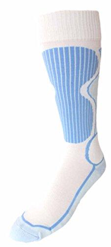 Thibet Ski- Strümpfe mit Thermolite Ski Socks, Farben alle:hellblau, Größe:40-43