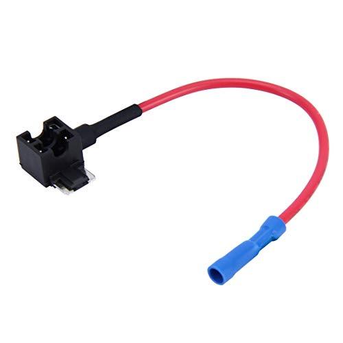 LYNQYG Zubehör Auto 12V Add-A-Circuit-TAP-Adapter ATM APM Blade-Auto Sicherungshalter (Minigröße)