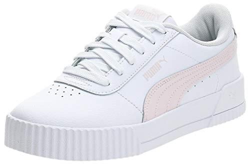 PUMA Carina L, Zapatillas Mujer, Blanco White/Rosewater/Rosewater, 39 EU