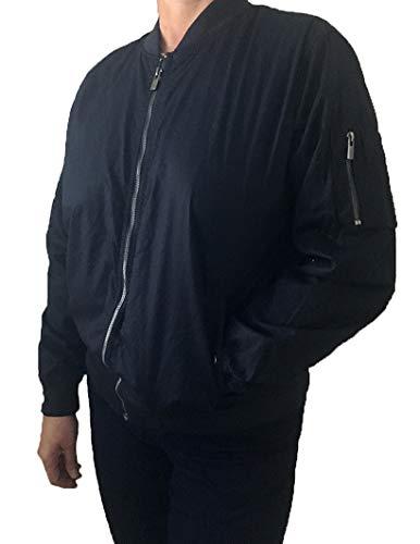 Buffalo David Bitton Damen Jacke mit Reißverschluss - Blau - Medium