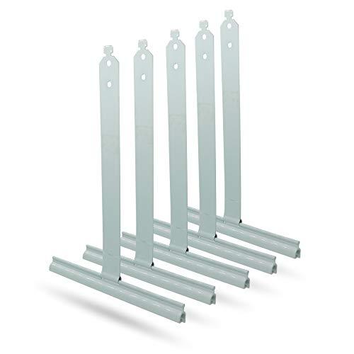 5 Stück Aufhängefeder Mini Stahlfeder Rolladenaufhängung Befestigungsfeder Aufhaengefeder Befestigung Rolladen Rolladenzubehoer