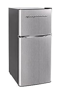 Frigidaire EFR451 2 Door Refrigerator/Freezer, 4.6 cu ft, Platinum Series, Stainless Steel, Double (B088G39HRF)   Amazon price tracker / tracking, Amazon price history charts, Amazon price watches, Amazon price drop alerts