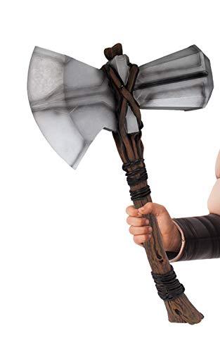 Prodotto con licenza ufficiale Marvel Endgame di Rubie's Include martello di Thor Stormbreaker in plastica. Prodotto ufficiale Marvel dalla gamma Rubie's, assicurati che il prodotto arrivi nella confezione ufficiale Rubie's Il prodotto con licenza uf...