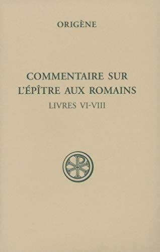 Commentaire Sur L Epitre Aux Romains Sc5 (Sources chrétiennes)