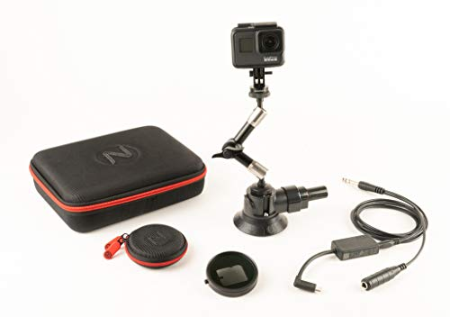 Nflightcam Cockpit Video Kit for GoPro Hero5, Hero6, and Hero7 Black