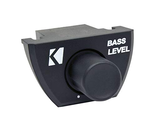 Kicker CXARC In Dash Bass Level Remote for CX, DX, or PX Series Amplifier, Black
