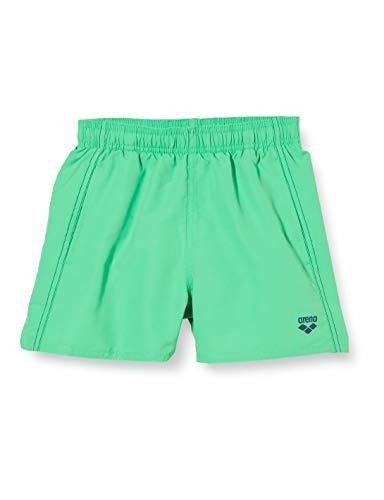 ARENA Jungen Badeshort Hose Boxer Fundamentals, Golf Green-Navy, 140, 1B352